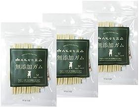 こやま園 丹波なた豆茶無添加ガム 犬用 (Mサイズ(小型犬~大型犬), 3袋セット)