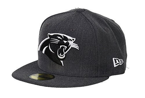 New Era Carolina Panthers 59fifty Basecap NFL Heather Graphite - 7-56cm