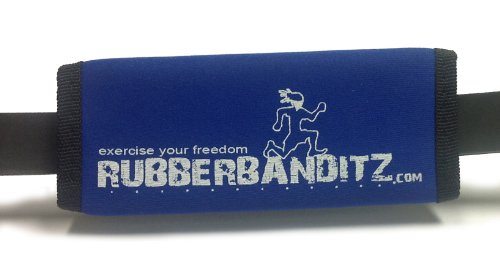 RubberBanditz Blue Hand Strap For Resistance Band Training