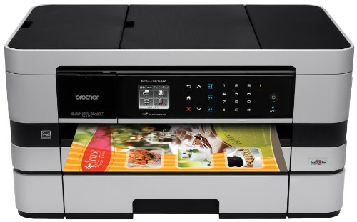Brother Printer BusinessSmart MFC-J4610DW Wireless Color Photo Printer with Scanner, Copier and Fax, Amazon Dash Replenishment Ready