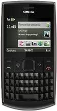 Nokia X2-01 QWERTY keyboard, Quadband, A2DP, Bluetooth, Unlocked international Version Phone with Warranty (Black/Grey)
