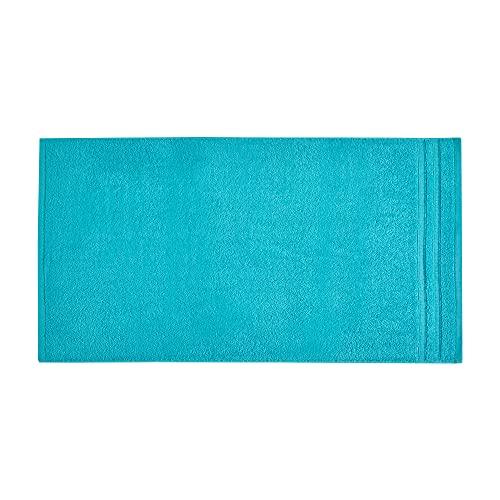 Toalla de Ducha, Toalla de Rizo, Toalla de Ducha, Toalla de Rizo, Turquesa, Verde y Azul, 70 x 140...