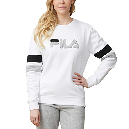 Fila Ladies' French Terry Crewneck (L, White)