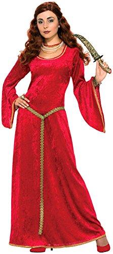 Forum Novelties Women's Ruby Sorceress Costume, Red, Standard