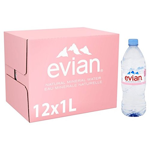 Evian Nog natuurlijk mineraalwater 12 x 1L