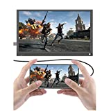 WWJJLL Écran Portable De 15,6 Pouces De Type C, Écran De Jeu 1080 Full HD IPS HDMI De Type C,...