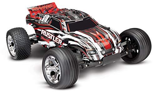 Traxxas Rustler Brushed 1:10 RC Modellauto Elektro Truggy Heckantrieb (2WD) RTR 2,4 GHz