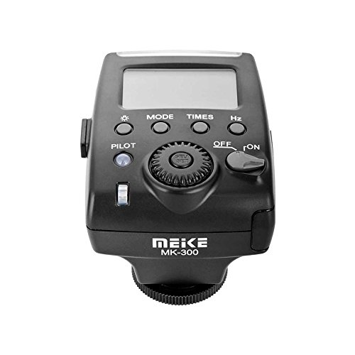 Meike MK300 - Flash para Canon, Color Negro