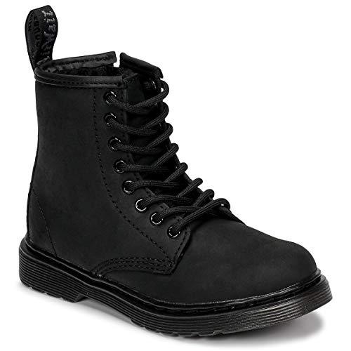 Dr. Martens 1460 Serena Mono J Stiefeletten Kinder Schwarz Mid Boots Schuhe, (Black Republic Wp), 36 EU