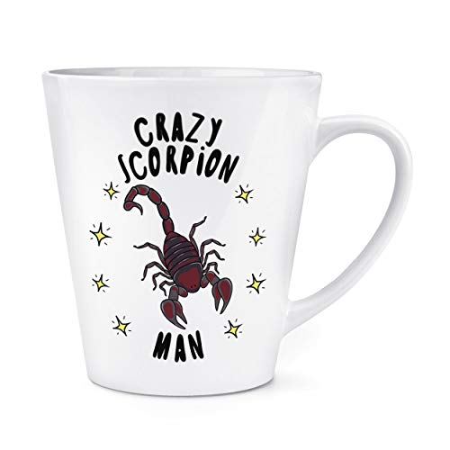 Crazy Scorpion homme étoiles 12oz Latte TASSE MUG