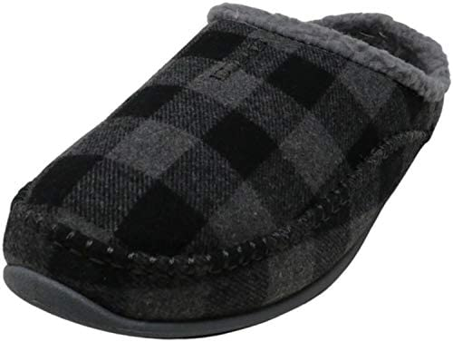 Deer Stags mens Slipper Grey Black 15 Wide US product image