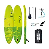 Aztron Aquatone Wave 10.6 Isup Hinchable Tabla de Surf, Stand Up Paddle 315x81x15