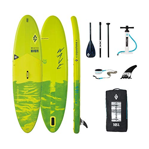 Aztron Aquatone Wave 10.6 Isup Hinchable Tabla de Surf, Stand Up Paddle 315x81x15
