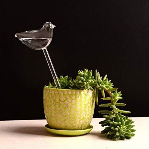 Gbc-type 6 soorten kamerplanten bloemen watertoevoer automatische irrigatie waterdispenser glas transparant vogels