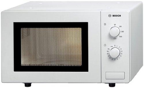 Bosch HMT72M420 Serie 2 Mikrowelle / 800 W / 17 l / Drehteller 24,5 cm / Türanschlag Links / Weiß