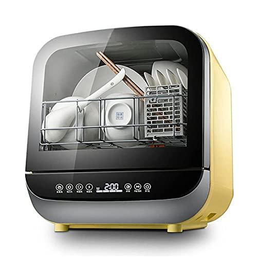 Lavavajillas Portátil Totalmente Automático Inteligente Con 6 Programas De Lavado, Secado Al Aire, Limpieza De Encimeras, Vajilla, Frutas Y Verduras Para La Cocina Del Hogar, 950 W