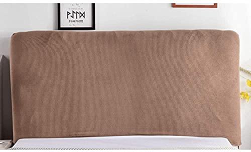Patchwork Funda para cabecera de cama, cama doble, individual, gruesa, funda de cabeza de cama de 360°, protector de respaldo a prueba de polvo, decoración nórdica dormitorio