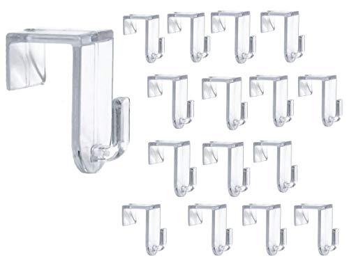 Bada Bing 16er Set Fensterhaken Türhaken Transparent Haken Für Ihre Fensterdekoration Fenster Für Jede Rahmenfarbe 93