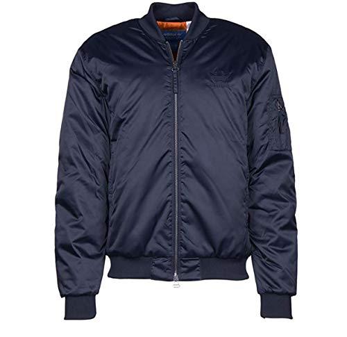 Adidas Giacca Uomo Superstar in Tessuto Blu AY9150/150
