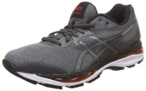 Asics Gel-Ziruss 2 Hombre Running Trainers 1011A011 Sneakers Zapatos (UK 6 US 7 EU 40, Steel Grey Black 021)