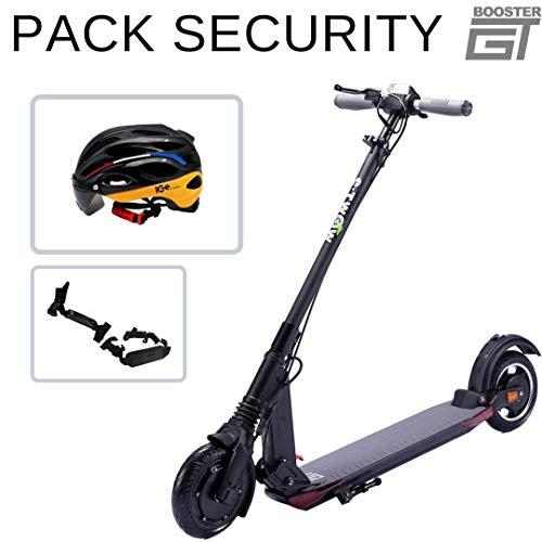 E-Twow Booster GT 2020 Pack Security | Ice Helm + Zubehör | Schwarz