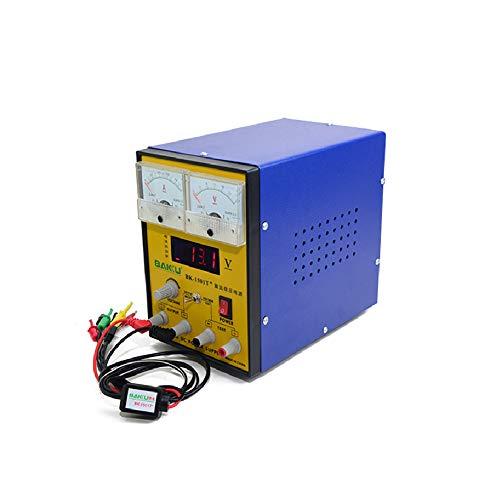 BAKU-1501T Fuente Alimentación Regulable (Potencia 15W, Medición de Voltaje, Detección de la Señal de Radiofrecuencia, Voltaje 220 , Salida Múltiple Input, Diseñada para Teléfonos Móviles, Equipos Electrónicos, Control de Voltaje) - Gris
