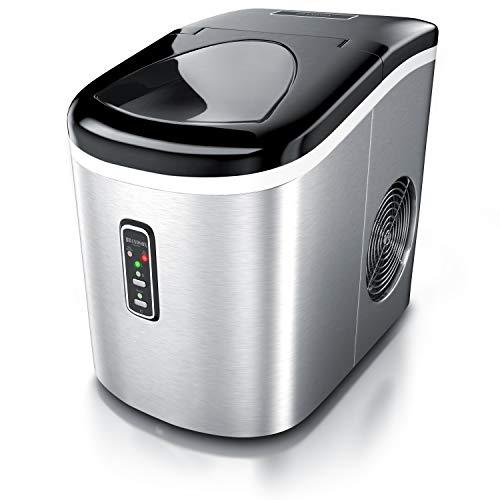 Brandson 722304993722 máquina de cubo de hielo Acero inoxidable