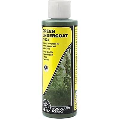 Woodland Scenics Undercoat 8oz-Green