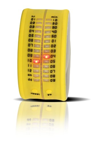 Time-IT Reloj Analog para Unisex de Quartz con Correa en Silicone Zero A8
