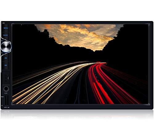 Tristan Auron BT2D7025A Android 10.0 Autoradio - 7'' Touchscreen GPS Navi Bluetooth Freisprecheinrichtung I 32GB ROM I USB SD OBD 2 DAB Plus I 2 DIN