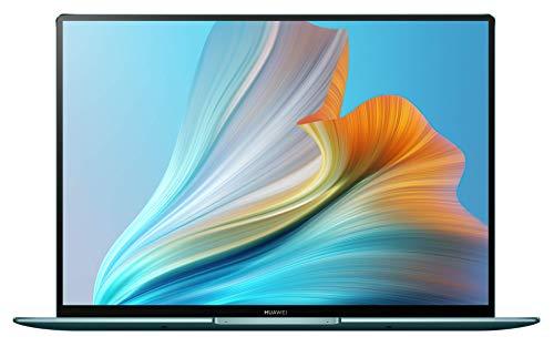 HUAWEI MateBook X Pro 2021 - 3K FullView Touchscreen Display, Aluminium UniBody, 11th Gen Intel i7-1165G7, 16 GB RAM, 1 TB NVMe PCIe SSD, HUAWEI Share, HUAWEI Free Touch, Win 10 Home, Emerald Green