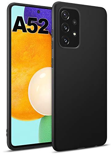 BENNALD Hülle für Samsung Galaxy A52 5G/4G Hülle, Soft Schutzhülle Hülle Cover - Premium TPU Tasche Handyhülle für Samsung Galaxy A52 5G/4G (Schwarz,Black)