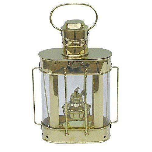 linoows Lukenlampe, Kabelgatt Laterne, Petroleum Lampe, Schiffslaterne Messing