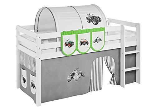Lilokids Hängetaschen Trecker Grün Beige - für Hochbett, Spielbett und Etagenbett