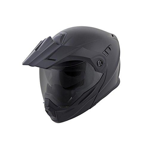 ScorpionEXO Unisex-Adult Modular/Flip Up Adventure Touring Motorcycle Helmet (Matte Black, XX-Large)...