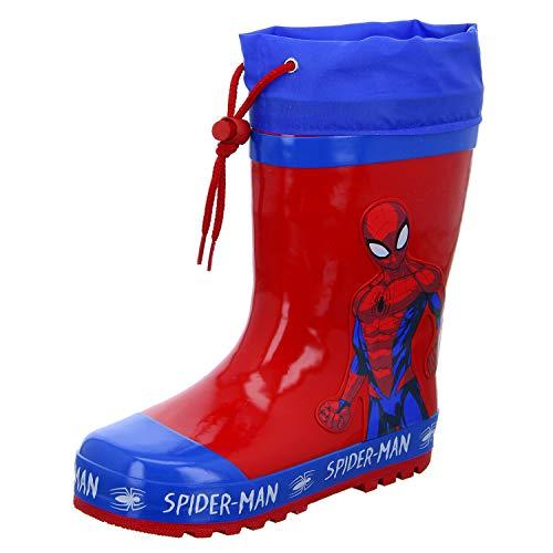 Spiderman SP006208 Jungen Regenstiefel, Größe 26