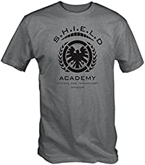 6TN Camiseta Estampada Hombre Shield Academy