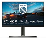 Philips 278M1R - 27 Zoll UHD Gaming Monitor, Ambiglow (3840x2160, 60 Hz, HDMI 2.0, DisplayPort, USB Hub) schwarz