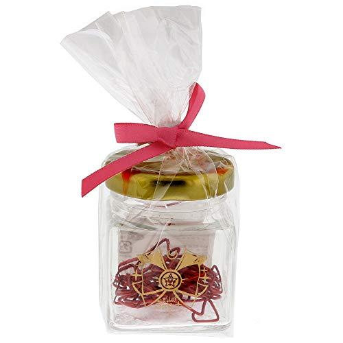 サンスター文具 美少女戦士セーラームーン クリップ 瓶入り ロマンティックオフィスステーショナリー 戦士のリボン S3619770