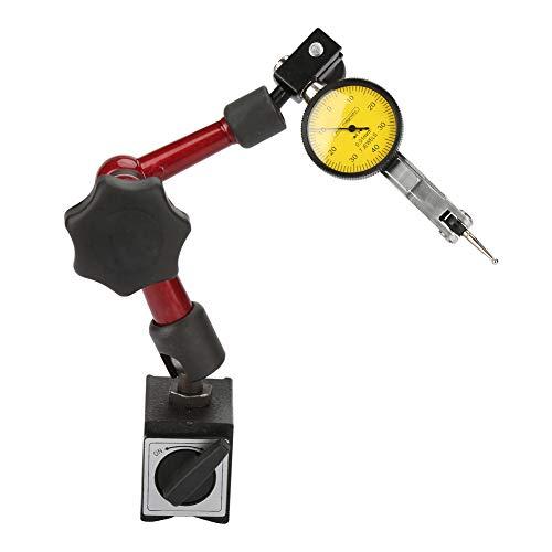 Base magnética universal, soporte de base magnética ajustable, soporte de indicador magnético, indicador de prueba de cuadrante, para corrección mecánica y medición técnica