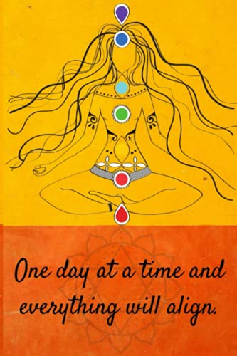 """Chakras Aligned: Notebook Journal Diary 