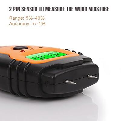 Wood moisture tester