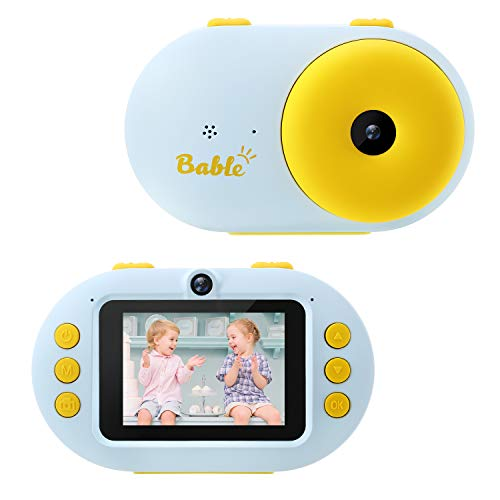 Bable Gift Camera for Kids, 1080P Waterproof Camera for Kids, 8MP/16MP Kids Digital Camera with 2.4'' Screen, Underwater Video Camera Camcorder Best Present for Boys Girls Included 16GB Micro SD Card