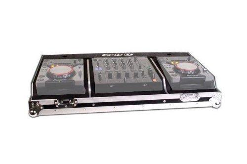 Zomo 0030101571 Plattenkoffer für 2x CDJ-200 und 1x DJM-600/700/800 (Set 200) silber