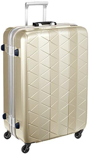 [サンコー] スーツケース SUPER LIGHTS MG-C 軽量 消音/静音キャスター MGC1-69 93L 69 cm 4.2kg エンボスシャンパンゴールド