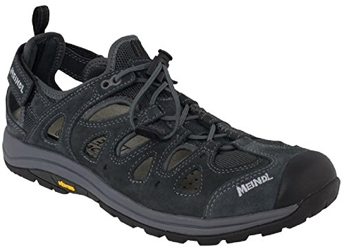 Meindl Sandalen Hawaii Sandalen Herren44, Schwarz