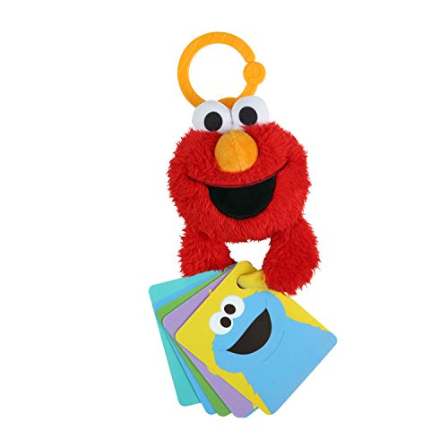 Bright Starts Sesame Street ABC Fun with Elmo On-The-Go Take-Along Toy, Ages 0-12 Months