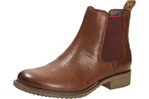 Tamaris Damen 1-1-25422-23 Chelsea Boots, Braun (Cognac 305), 38 EU