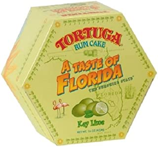 Tortuga Florida Rum Cake, Key Lime, 4.0 Ounce