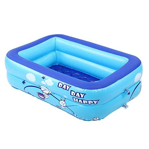 Omabeta Piscina Inflable Segura y ecológica Piscina para Juegos acuáticos, 2 círculos, Plegable simplificado para Nadar y Jugar